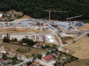 L'avancement du chantier de Lascaux4