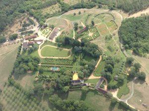 Les jardins du manoir d'Eyrignac vu par Tanguy