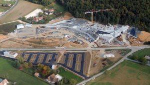 Etat d'avancement du chantier de Lascaux 4 au 17 octobre