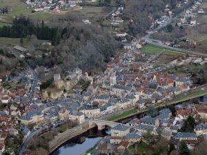 La ville de Montignac