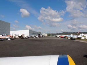 Le parking des avions