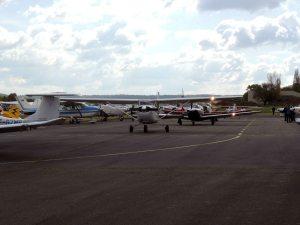 Le départ des avions