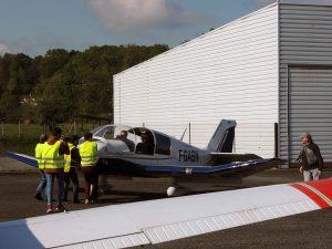 Le parcage manuel des avion