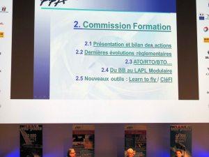 Le travail de commission formation