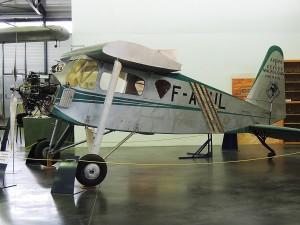 Un fuselage de Maubousin