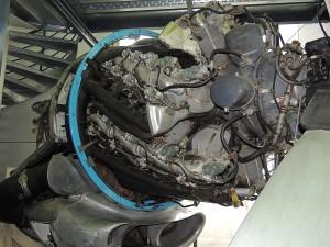 Moteur 28 cylindres en étoile - 4 étages