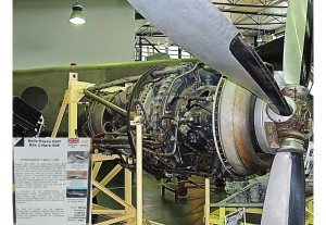 Turbo propulseur Rolls Royce 1944 -1400cv