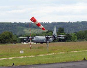 Le hercule C130 au décollage