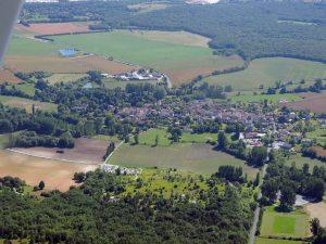 Le village de La Tour Blanche