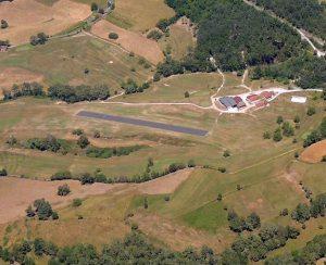 La piste-ulm-du domaine de savignoux- golf du Puy d'Arnac