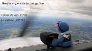 Grover supervise la navigation