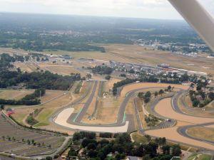 Le circuit des 24H et l'aérodrome du Mans