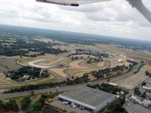 Le Circui des 24H et l'aérodrome du Mans