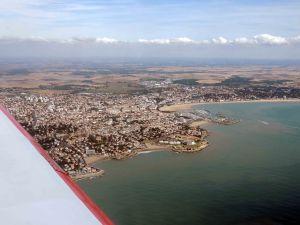Le port et la plage de Royan
