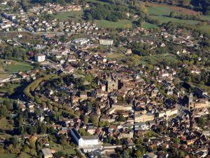 La ville de Gourdon