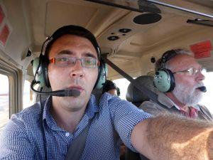 L'équipage du Cessna 172