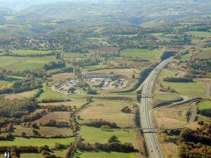 Le croisement avec l'autoroute A20