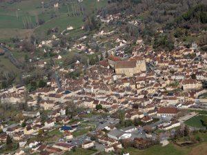 Le village de Saint Cyprien